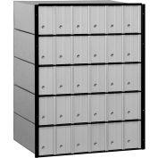 "Salsbury Aluminum Mailbox 2230 - 23-1/2""W x 15-1/2""D x 30""H, 30 Doors, Standard System"