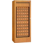 """Salsbury Rotary Centre de courrier 3150OKP - 30"""" W x 24 H «D x 74», en laiton Style, chêne, accès privé"""
