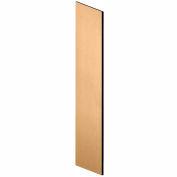 "Salsbury Side Panel 33306 - for 21""D Designer Wood Locker with Sloping Hood Maple"