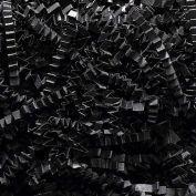 Spring Fill Decorative Filler C40BK Crinkle Cut, Black, 40 Lb. Box