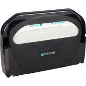 San Jamar Toilet Seat Cover Dispenser, Classic Black Pearl - TS510TBK - Pkg Qty 10
