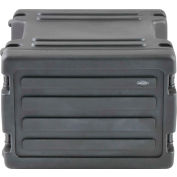 SKB Cases 8U - Roto Rolling Rack 1SKB-R8W Black, Keyed Lock, Water Resistant