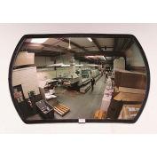 """Voir All® 160 degrés rond rectangulaire acrylique miroir convexe - Indoor, 20 """"x 30"""" - PLX2030"""