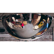 """See All® 360-Degree Acrylic Full Dome Mirror - Indoor, 36"""" Diameter - PV36-360"""