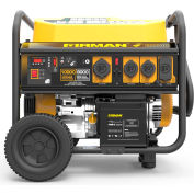Firman 10,000/8000 Watt Portable Generator, Gas, Recoil, Electric & Remote Start, 120/240V - P08004