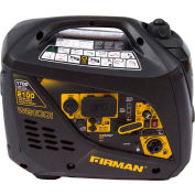 Firman 2100/1700 Watt Whisper Series Inverter Generator, Gas, Recoil Start, 120V - W01781