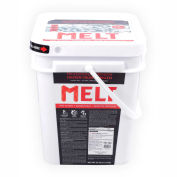 Faire fondre 25 livres seau force professionnelle du chlorure de Calcium Pellet Ice Melter - MELT25CCP-BKT