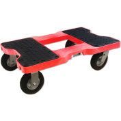"Snap-Loc™ Air-Ride Dolly SL1500D6AR - 6"" Casters - 1500 Lb. Cap.-  Red"