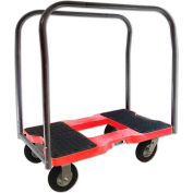 """Snap-Loc™ Air-Ride Panel Cart Dolly SL1500PC6AR - 6"""" Casters - 1500 Lb. Cap. - Red"""