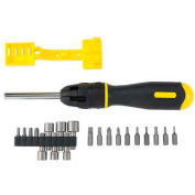 Stanley 62-574 21 Piece Multi-Bit Ratcheting Screwdriver Set