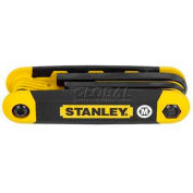 Stanley STHT71800 8 Piece Metric Folding Hex Key Set