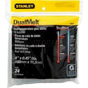 "Stanley GS20DT DualMelt™ Glue Sticks 4"", 24 Pack"