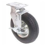 Grue de portique en aluminium Spanco, pneu pneumatique, pneu simple, avec frein, capacité de 500 lb