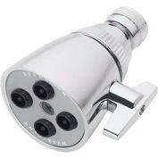 Speakman Anystream® Conserve 4-Jet Shower Head, Polished Chrome Finish, 2 GPM