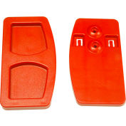 Rubbermaid® Door Latch for Mega Brute Waste Collector, Red - FG9W71L5RED