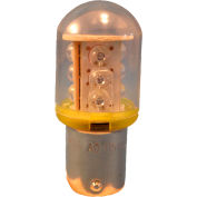 Springer Controls / Texelco LA-11EB4 70mm Stack Lamp, 24V LED Bulb - Yellow