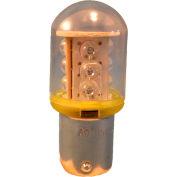 Contrôles de Springer / Texelco LA-11EB4 70mm pile lampe, ampoule de LED 24V - jaune