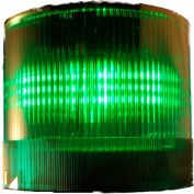 Springer Controls / Texelco LA-154F 70mm Stack Light, Steady, 120V AC/DC LED - Green