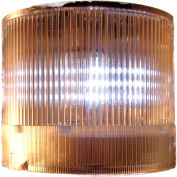 Springer Controls / Texelco LA-19-15 70mm Stack Light, Steady, 120V AC/DC BULB - Clear