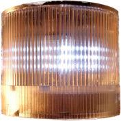 Springer Controls / Texelco LA-19-4F 70mm Stack Light, Steady, 120V AC/DC LED - Clear