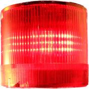 Springer Controls / Texelco LA-42-24 70mm Stack Light, TriFunction (S,F,R), 24V AC/DC LED - Red