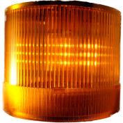 Contrôles de Springer / LA Texelco - 44Ko 70 mm Stack léger, BiFunction (S, F), 24V AC/DC LED - jaune