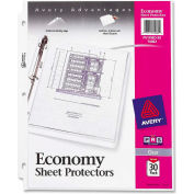 "Avery® feuille protectrice, 8-1/2"" W x 11"" H, claire, 30/PK"