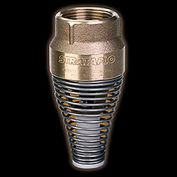 """1-1/4"""" FNPT No-Lead Brass Foot Valve with Buna-S Rubber Poppet"""