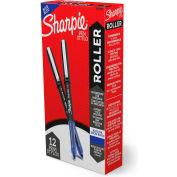 Sharpie® Roller Ball Stick Pen, 0,5mm, Encre Bleue, qté par paquet : 12