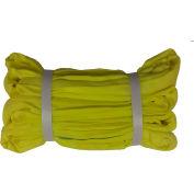 """Safeway SR-3 x 16 1 """"x 16' Saf/Grip élingue sans fin Polyester ronde, jaune"""