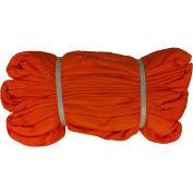 "Safeway SR - 9 X 20 2-1/4 ""x 20' Saf/Grip élingue sans fin Polyester ronde, Orange"