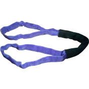 """Safeway SR1-EEX05 1-1/5"""" x 5' Saf/Grip Endless Polyester Round Sling, Purple"""