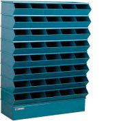 """Stackbin® trémie en acier pile Bin, unité sectionnelle compartiment 40 37"""" W x 13 H «D x 48», bleu"""