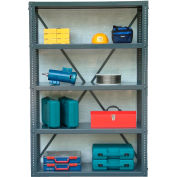 Strong Hold Open Shelving Unit 48 x 24 x 72