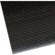 "NoTrax Razorback 1/2"" Thick Safety-Anti-Fatigue Floor Mat, 2' x 3' Black"