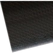 "NoTrax Razorback 1/2"" Thick Safety-Anti-Fatigue Floor Mat, 3' x 5' Black"
