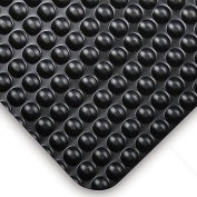 "NoTrax® Bubble Trax™ Anti-Fatigue Mat, 1/2"" Thick 3'W Cut Length 1Ft Up To 60ft, Black"