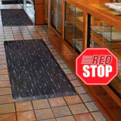 Marble Sof-Tyle Grande RedStop Mat - 2' x 3'  Walnut