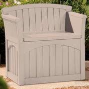 Suncast PB2600 Patio Seat and Deck Box 31 Gallon