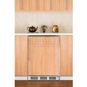 Summit AL750BIFR ADA Comp Built in Undercounter Refrigerator 5.5 Cu. Ft. White