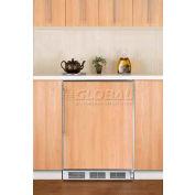 Summit FF6BIFRADA ADA Comp Built in Undercounter Refrigerator 5.5 Cu. Ft. White