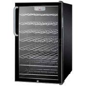 "Summit SWC525LBITBADA - ADA Comp 20""W Wine Cellar For Built-In Use, Lock, Digital TSTAT,"
