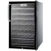 "Summit SWC525LCSSADA - ADA Comp 20""W Wine Cellar For Built-In ,, S/S Cabinet, Lock, Digital TSTAT"