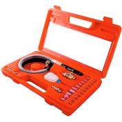 "Sunex Tools SX245K, Pencil Air Die Grinder Set, 16 Piece, 58000 RPM, 5.3 CFM, 1/4"" NPT Inlet"