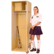 Penco 6KFD09-722 Stadium® Locker With Shelf & Security Box,18x18x72, Patriot Red, Unassembled