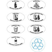 Newspaper Only Label for Techstar Recycling Systems