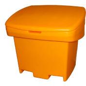 Light Duty Salt/Sand Storage Bin, Yellow - Techstar SA500