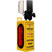 Cordon de capteur de collision sensibilisation chariot élévateur, affût de 1 modèle, 1 boîte, 2 capteurs, 2 feux, 25'