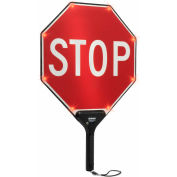 """TAPCO® 2180-00301 STOP/STOP BlinkerPaddle® clignotant LED Paddle, W 18"""" x 24"""" H"""