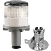 Tapco® 3337-00003 Solar Powered LED Strobe Lights, White Bulb